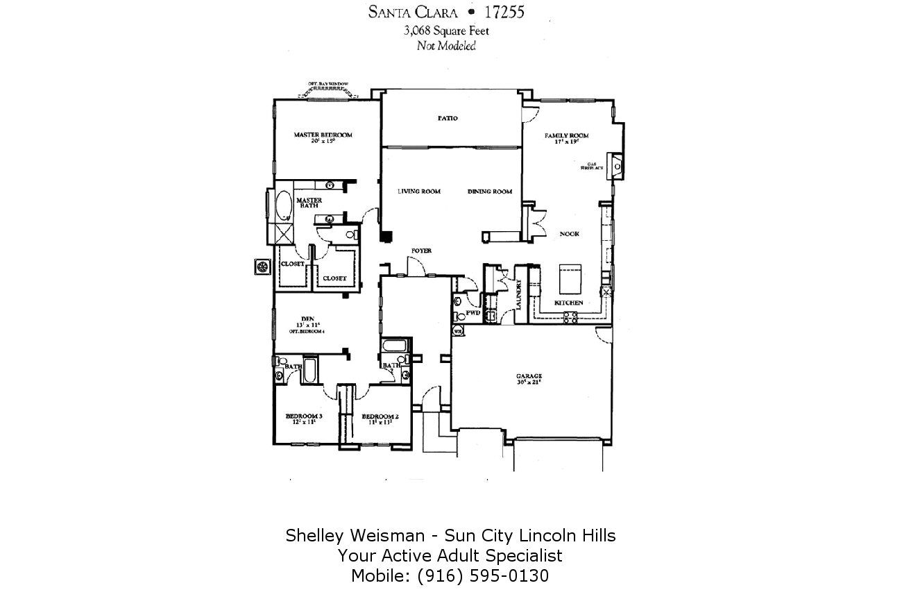Sun City Lincoln Hills Floor Plans Shelley Weisman Real